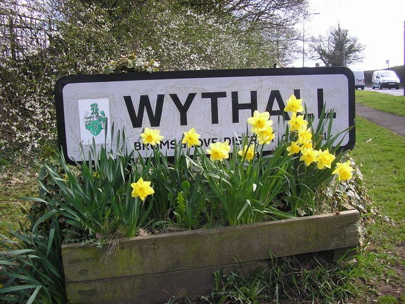 wythall village sign