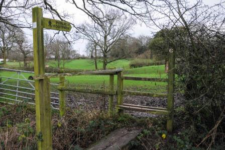 a Wythall footpath
