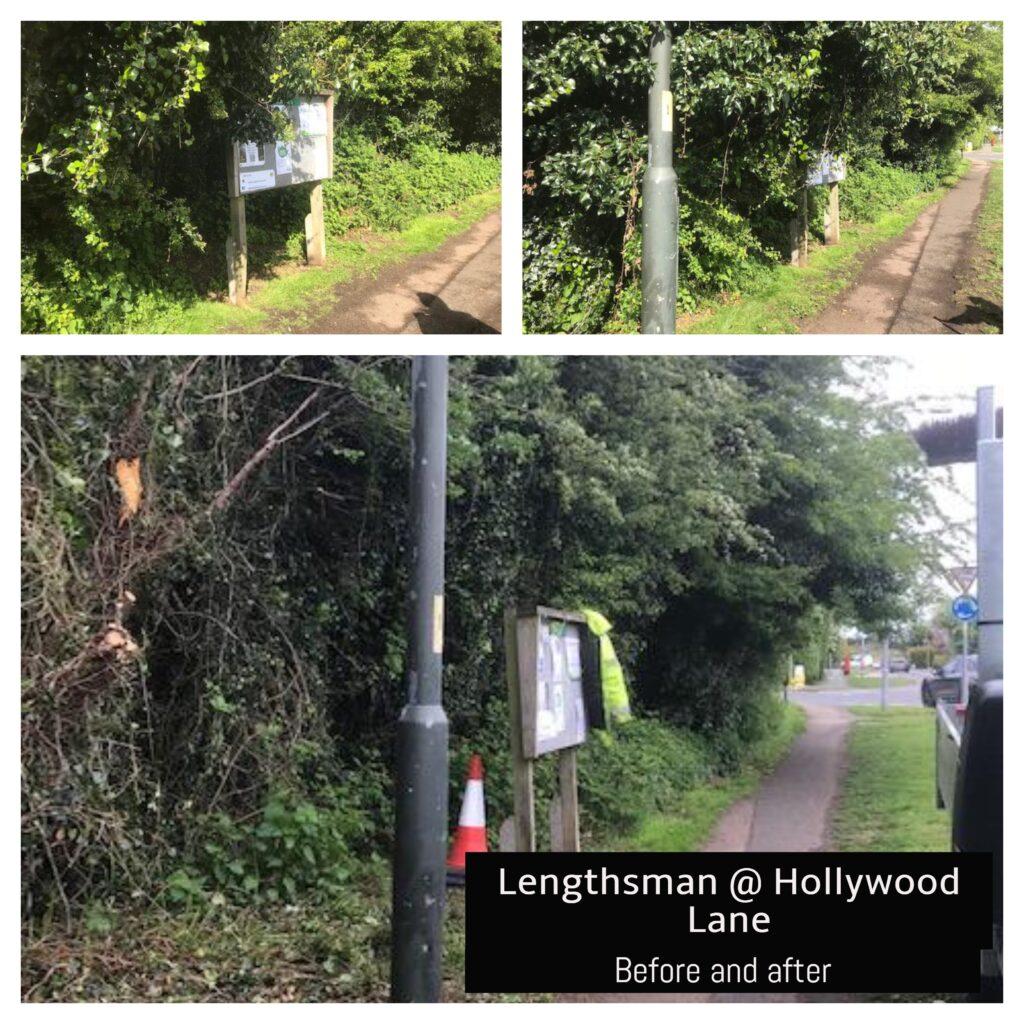 Lengthsman at Hollywood Lane