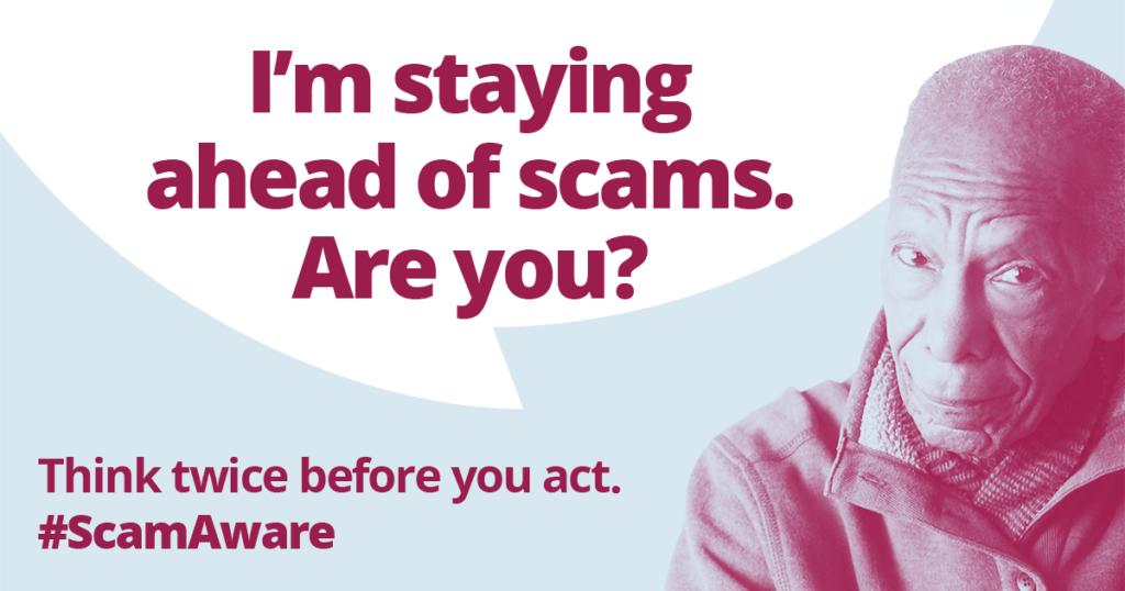 Citizens Advice - Scam Awareness Image